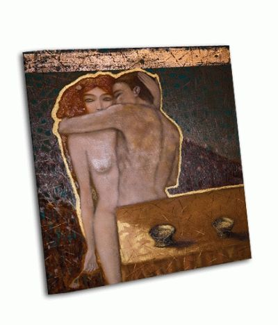 Картина обнаженные мужчина и женщина
