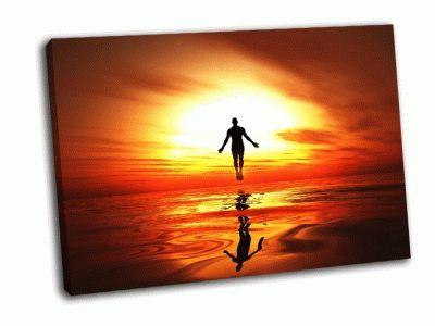 Картина огонь небес-горящие пробуждение