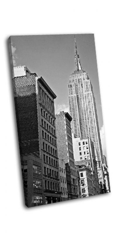 Картина около эмпайр-стейт-билдинг