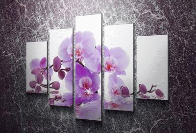 Картина орхидея фиолетовая