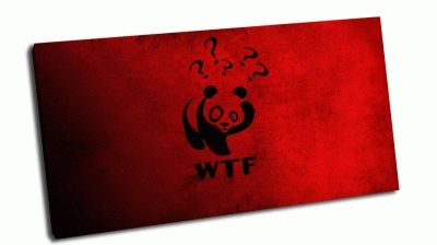 Картина панда wwf - wtf