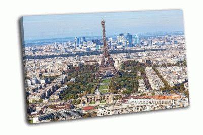 Картина париж свысока
