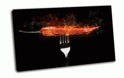 Картина перец в огне
