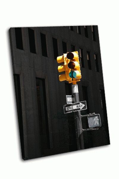 Картина пешеходный переход в нью-йорке