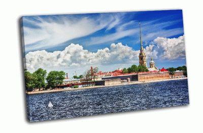 Картина петропавловская крепость санкт-петербург