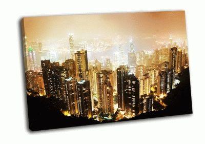 Картина пик виктория ночью