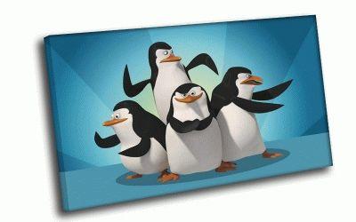 Картина пингвины из мадагаскара