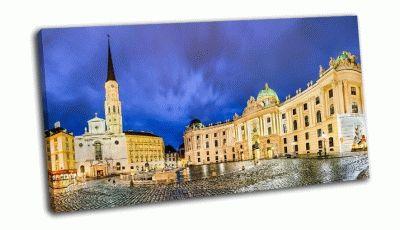 Картина площадь михаэлерплатц в вене