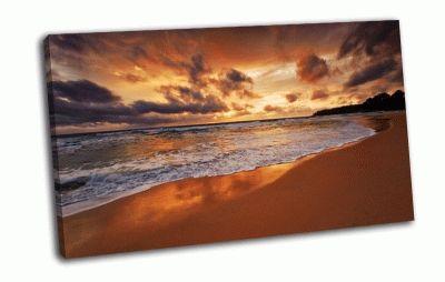 Картина побережье океана
