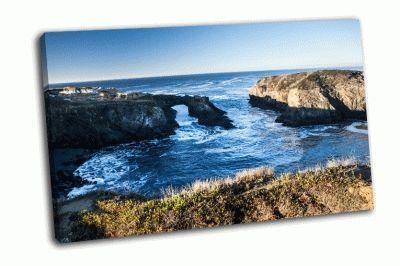 Картина побережье северной калифорнии