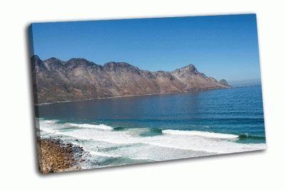 Картина побережье в индийском океане