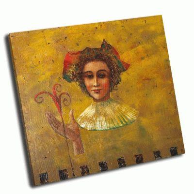 Картина портрет девушки маслом
