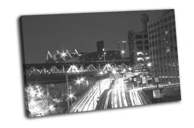 Картина потоковой светофор в нью-йорке