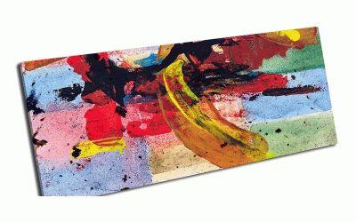 Картина прямоугольная абстрактная живопись