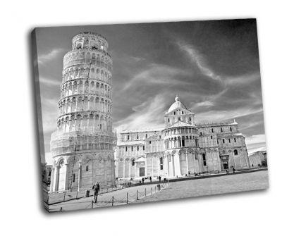 Картина пьяцца дей мираколи базилика и пизанская башня