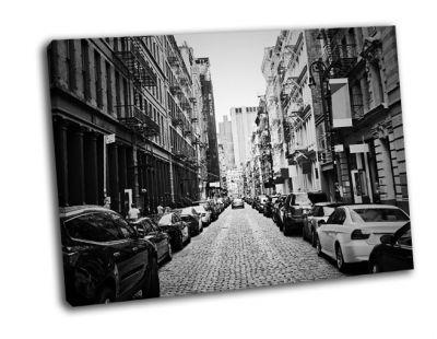 Картина район сохо в нью-йорке