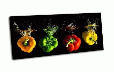 Картина разноцветные перцы