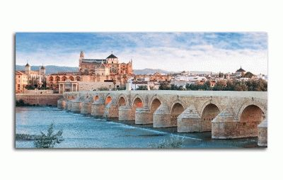 Картина римский мост и великая мечеть