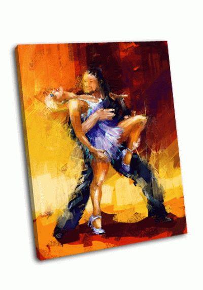 Картина румба танцоров