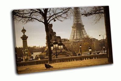 Картина сад тюильри в париже