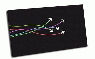 Картина самолетики