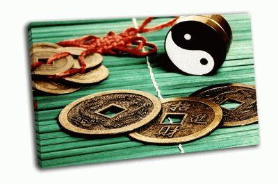 Картина счастливые монеты