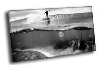 Картина серфер