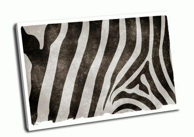 Картина шкура зебры