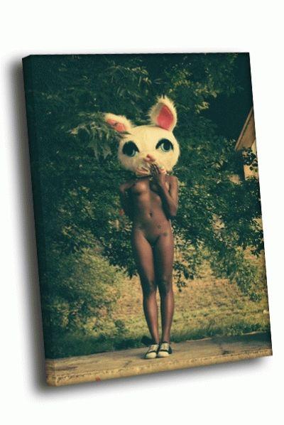 Картина шоколадный кролик