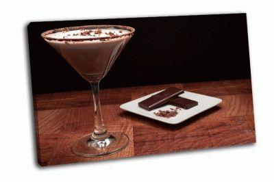 Картина шоколадный напиток