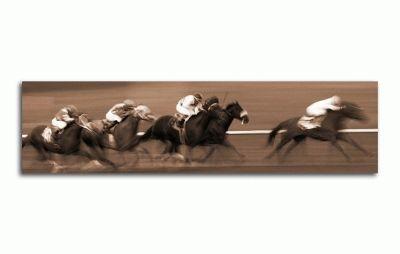 Картина скачки лошадей