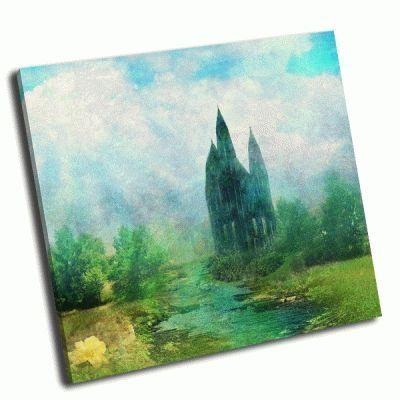 Картина сказочная башня фэнтези