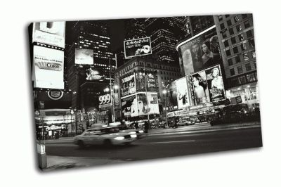Картина скорость машины в нью-йорке