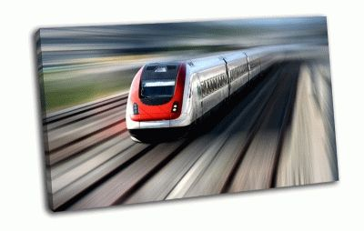 Картина скоростной поезд