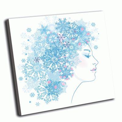 Картина снежная королева