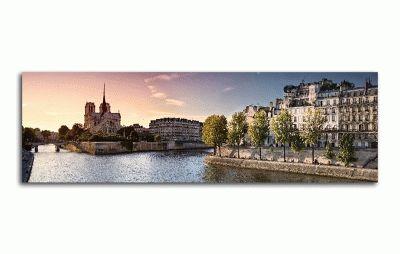 Картина собор нотр-дам в париже