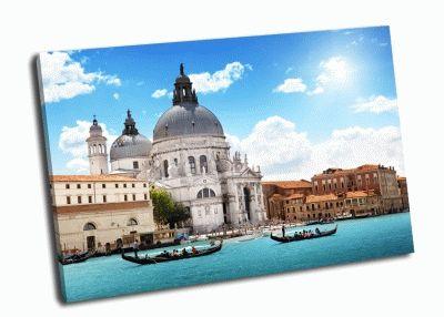 Картина собор венеция, италия