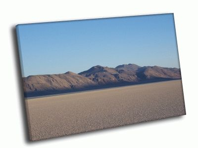 Картина соленая пустыня