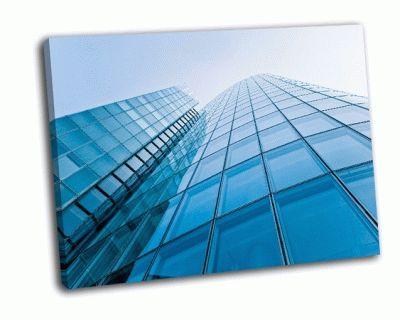 Картина современные бизнес здания
