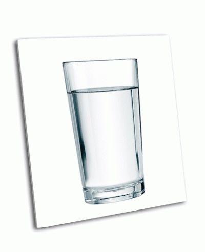 Картина стакан воды