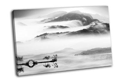 Картина стиль-китайский пейзаж