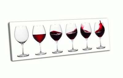 Картина строка красного вина