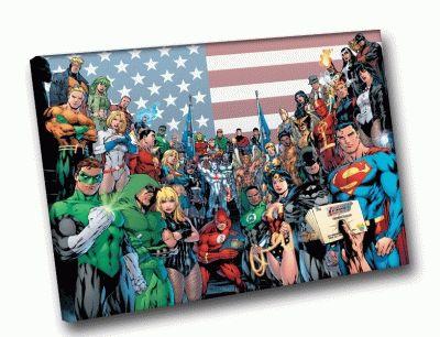 Картина супергерои: все в сборе