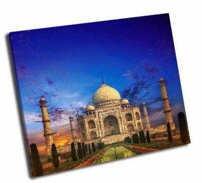 Картина тадж-махал в индии