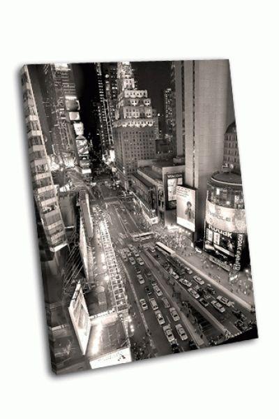 Картина таймс-сквер, манхэттен, америка