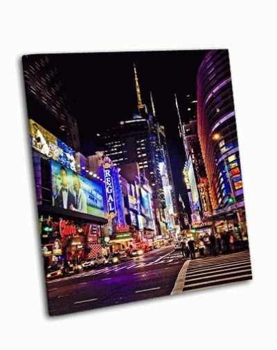 Картина таймс-сквер, нью-йорк
