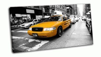 Картина такси под управлением