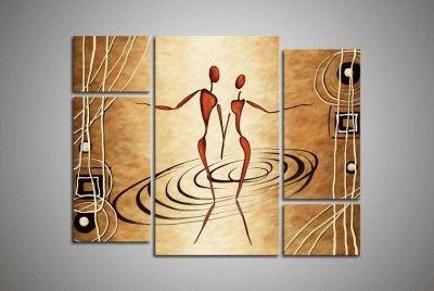Картина танцующая пара