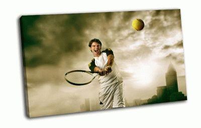 Картина теннисист