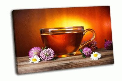 Картина травяной чай